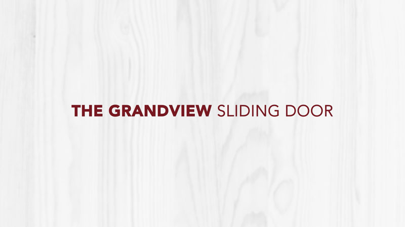 Doctor Exteriors - The Grandview Sliding Door
