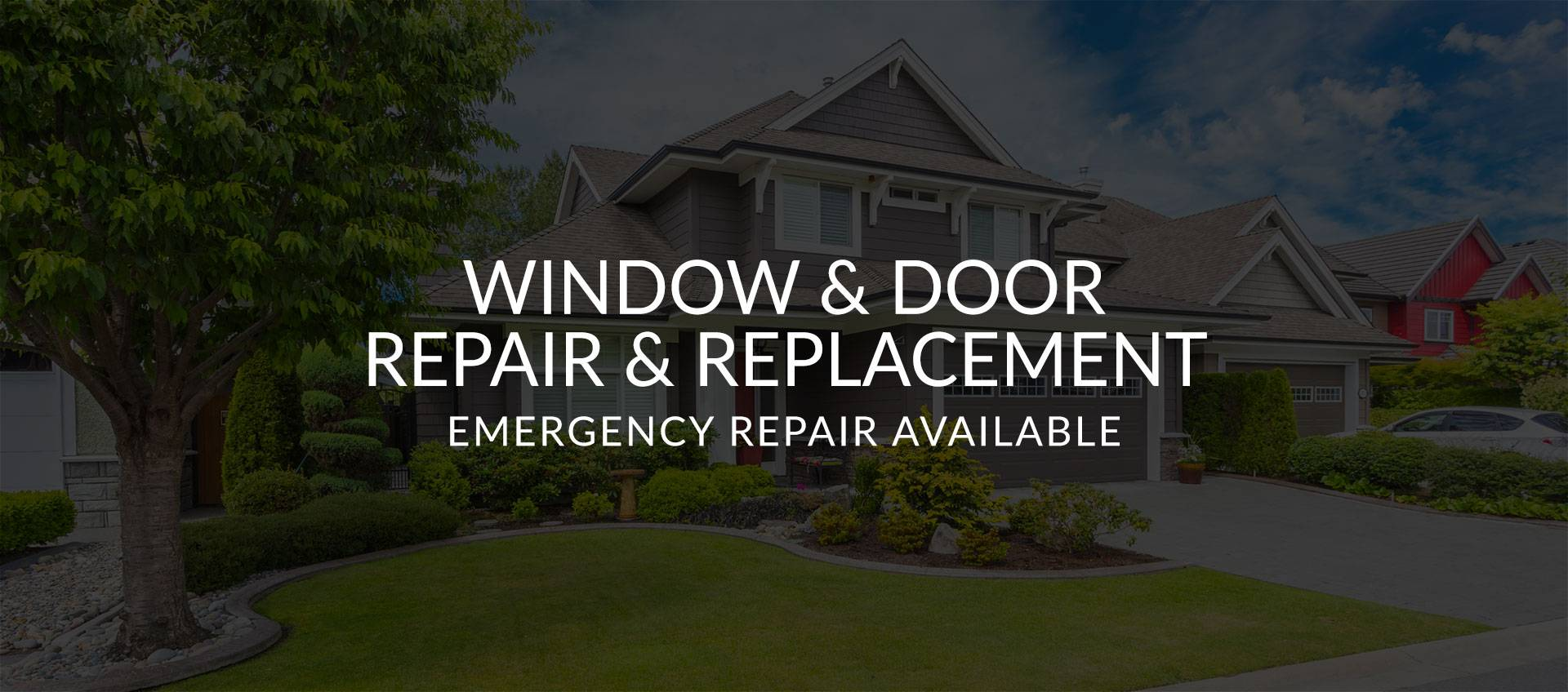 Dr. Exteriors - Slider - Window and Door Repair Replacement Installation