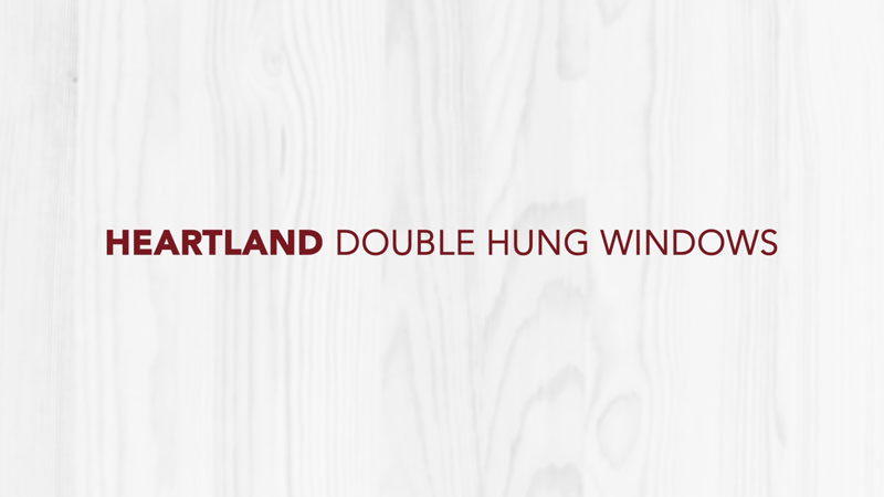 Doctor Exteriors - Heartland Double Hung Windows
