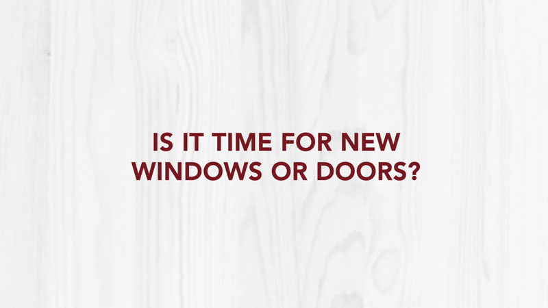 Doctor Exteriors - Is It Time For New Windows or Doors